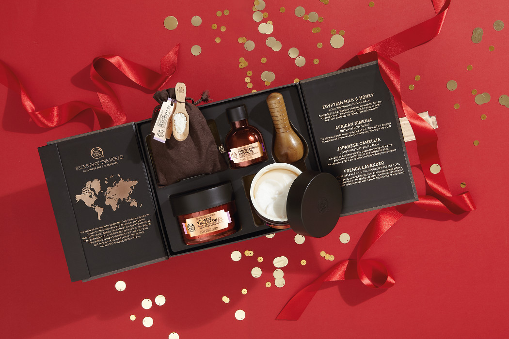 julklappstips the body shop