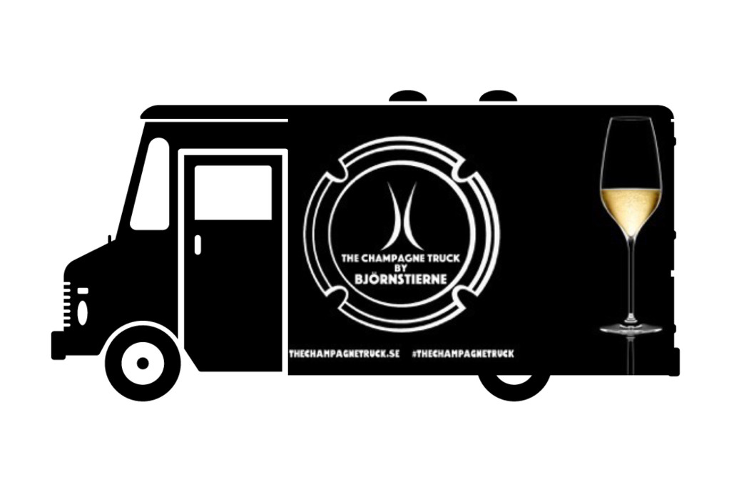 the champagne truck